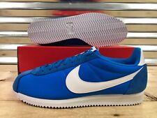 15d763bccc21 Nike Classic Cortez Nylon Retro Shoes Photo Blue Pale Grey SZ ( 807472-400 )