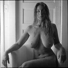 Art Print, Fine Art Nude Study, 8.5x11 B & W film photograph, signed print!!