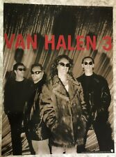 Van Halen 3 Original 1998 Promo Poster 18 x 24 Free Priority Shipping!
