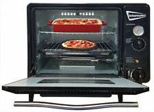 Leisurewize Camping, Caravan & Home Portable 30L Gas Butane Cooker Oven - BLACK