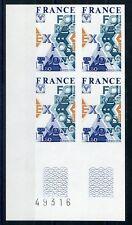 Francia n. 2000 ** ungezähnter eckrand-VB arco NUMERO!!! (105712)