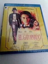 "BLU-RAY ""EL GATOPARDO"" PRECINTADO SEALED LUCHINO VISCONTI BURT LANCASTER ALAIN D"