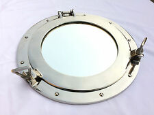 "15"" Aluminium Porthole Windows Ship Boat Round Port Hole Nautical Wall Decor"