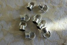 New listing 50 Silver Loops for Small Chandelier Arm Repairs