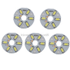 5PCS 5730 3W White LED Emitting Diode SMD Highlight Lamp Panel LED Board K9