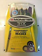 Monster THX Component Video 500 Cable Set THX V500 CV8 Three Cable Set 8ft/2.43m
