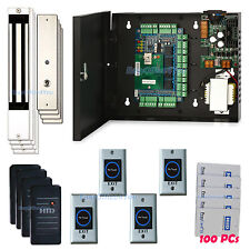 FULL 4 Doors Access Control Package+4 PCs 280kg Force maglock+6005B Prox Read