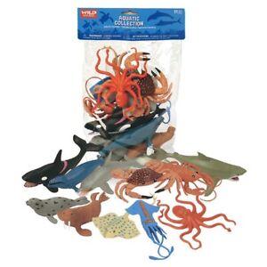 Wild Republic Aquatic Animals - 11 Different Sea Life Figurines *FREE DELIVERY**