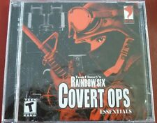 Video Game PC Tom Clancy's Rainbow Six Covert Ops Essentials NEW SEALED