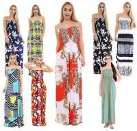 Women Plus Size Printed Tropical Summer Floral Beach Sheering Boob Maxi Dress