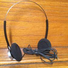 Retro Sony MDR-40 Headphones For WM-D6C - Vintage - Nice!