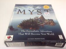 Myst on CD-ROM for Windows 3.1 and Win 95 Big Box PC Game Software 1996 *NEW*