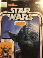Star Wars #20 Yoda figure variant John Tyler Christopher 1st printing Marvel NM