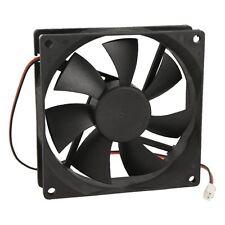 90mm x 25mm DC 12V 2Pin Cooling Fan for Computer Case CPU Cooler DT