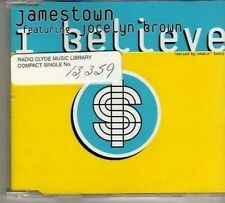 (BO304) Jamestown ft Jocelyn Brown, I Believe - 1999 DJ CD