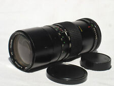 CANON FD mount fit MC TELESOR 85-210 mm f 3.8 zoom lens