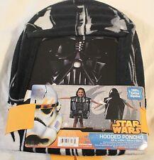 Disney Star Wars Darth Vader Hooded Poncho Towel 22x22 new #156