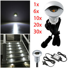 26mm Outdoor LED Decking Rail Stair Step Light Garden Path Yard Low Voltage Lamp