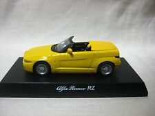 1:64 Kyosho Alfa Romeo RZ Yellow Diecast Model Car