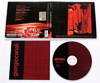 Giorgio Canali ROSSOFUOCO ROSSO FUOCO 2002 Gamma Pop CD DIGIPACK RARO