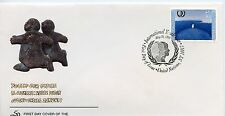 UNITED NATIONS 1995 YOUTH 6  GENEVA  CACHETED FIRST DAY COVERS