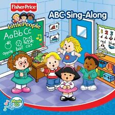 Fisher price Little people ABC CHANTER CD Kids Learn the Alphabet Lettres