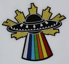 Disco UFO: Embroidery Patch