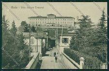 Milano Meda ABRASA cartolina QQ8127