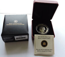 More details for 2012 canada $20 silver proof diamond jubilee ultra high relief cased with coa