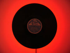 Led Wandleuchte Schallplatte TV Hifi Wandlampe Leds rot