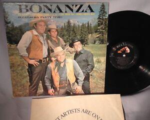 LP SOUNDTRACK BONANZA Ponderosa Party Time MONO LPM 2583 CANADA VG+