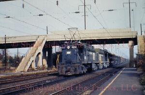 Penn Central PC Electric Loco #4602 Original Slide Colonia