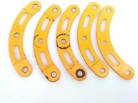 radius Vintage Meccano 8 Curved Strip; Step.; 2 1//2 in.; 1 3//8 in 90a