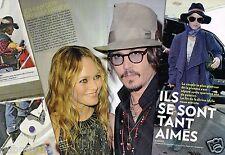 Coupure de Presse Clipping 2012 (10 pages) Vanessa Paradis Johnny Depp