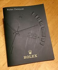 Rolex Datejust 2001 Spanish España Booklet Brochure Catalogue Manual Oem