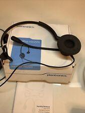 Plantronics SupraPlus HW251N Black Headband Headsets