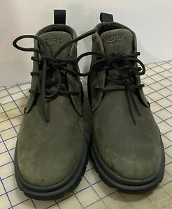 [STS19715] Mens Sperry Watertown Chukka SIZE US 7.5 NWOB LOOK!!!!!!!