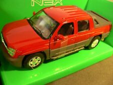 1/24 Welly Chevrolet Avalanche 2002 rot 22094