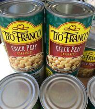 Tio Franco Chick Peas ( 4 PACK ) Garbanzos Prime Premium 15 Oz FREE SHIPPING-New