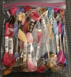DMC Floss Grab bag of 50 Skeins