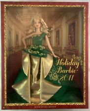 NIB Barbie Doll / Collector Edition / Holiday Barbie 2011