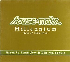 2x CD - Tommyboy - House Matic Millennium. Best Of 1990-2000 - #A3654 - RAR