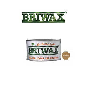 Briwax Original Natural Wax Polish Wood Furniture Cleans Stains Restorer 400g
