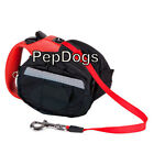 Leash Saddle Poop Bag Holder Fits Flexi Medium & Large Retractable Dog Leashes