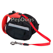 Leash Saddle Poop Bag Holder Fits Flexi Medium & Large Retractable Dog Leashes