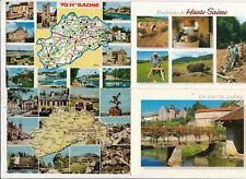 Lot 4 cartes postales HAUTE-SAONE