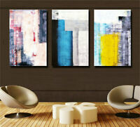 ZWPT1253 100% handmade painted 3pcs abstract modern oil painting art on Canvas