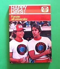 Fonzie all'università - W. Johnston - Happy Days! - 1^ Ed. La Sorgente 1978