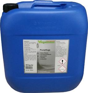 30 kg Poolpflege Aktivsauerstoff für Schwimmbäder und -teiche, chlorfrei 743.4