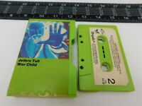 Slip Case Jethro Tull Green Cassette War Child Audio Tape M5C-1067